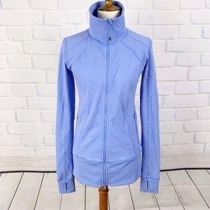Lululemon Blue Athletic Jacket Thumbholes Zipper 4
